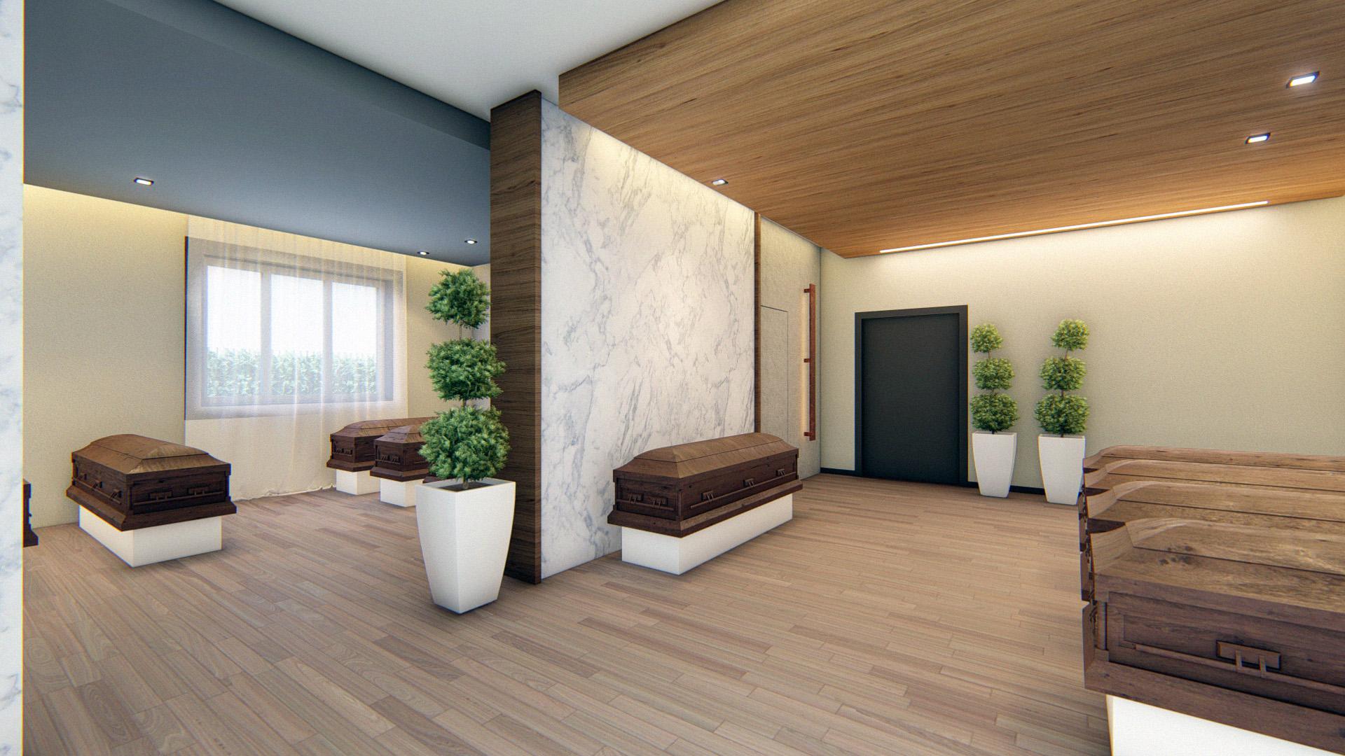 Interior Design per Funeral Home