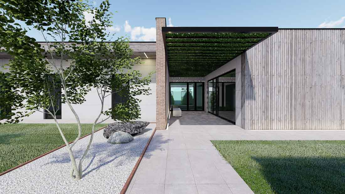 Progettazione_casa_funeraria_Bologna1-ingresso