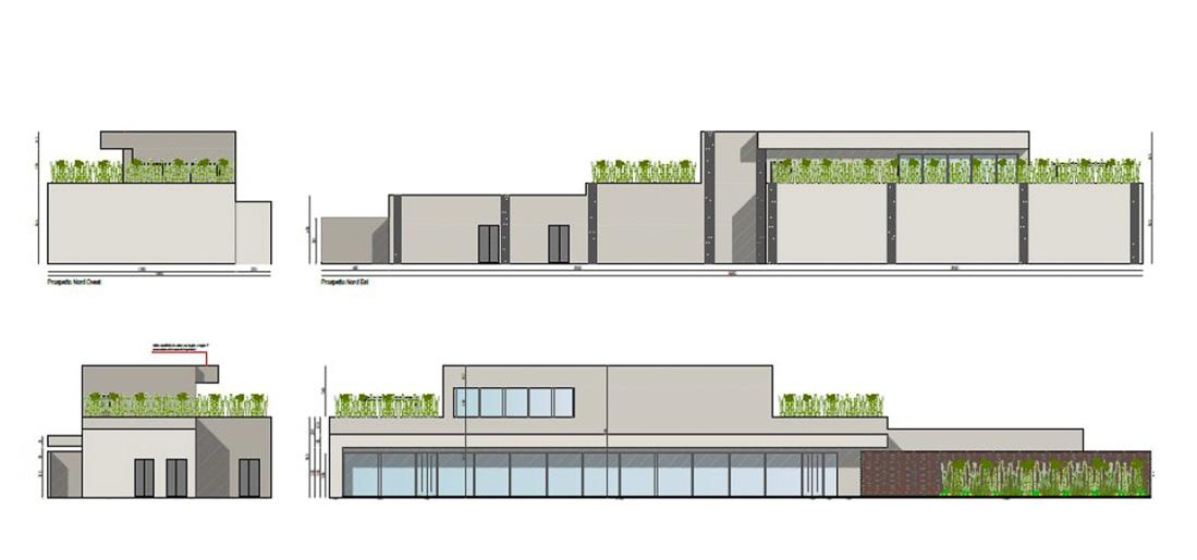 Progettazione-casa-funeraria-Pordenone-prospetti
